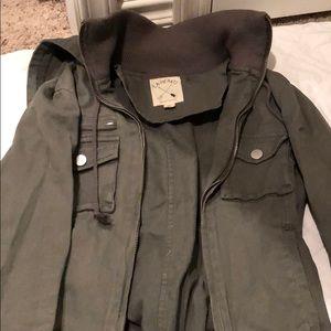Military hooded jacket